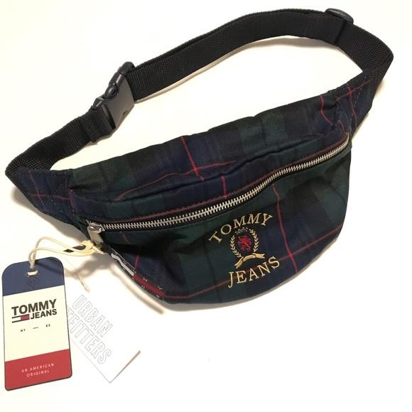 Tommy Hilfiger Bags Tommy Jeans Crest Heritage Sling Bag Fanny